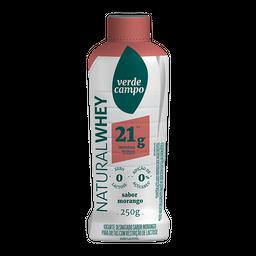Iogurte Natural Whey 21 g Morango 250 g