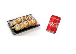 Hot Roll - 10 Unidades E Coca-Cola Original