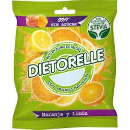 Bala Dietorelle Laranja Grappefrut 70 g
