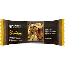 Barra Nuts Harts Vegana Coco/Chocolate 35 g