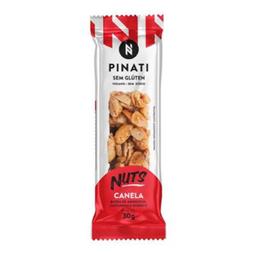 Barra Nuts Pinati Sem Glúten Canela 30 g