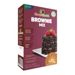 Brownie Grani Amici Sem Glúten 370 g