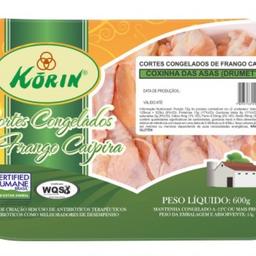 Coxinha Asa Caipira Congelado Korin 600 g