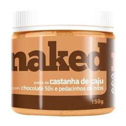 Pasta Castanharia Nakednuts Sem Açúcar Chocolate/Nibs 150 g