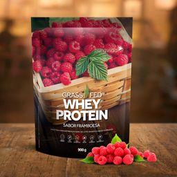 Proteína Puravida Whey Framboesa 900 g