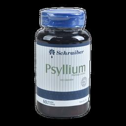 Psyllium Schraiber 60 Capsulas