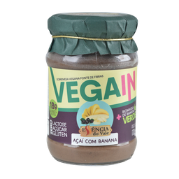 Sobremesa Vale Vegana Açaí/Banana 170 g