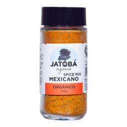 Tempero Spice Mix Mexicano Jatoba Orgânico 45 g