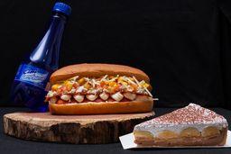 Combo Dog + Refri + Sobremesa