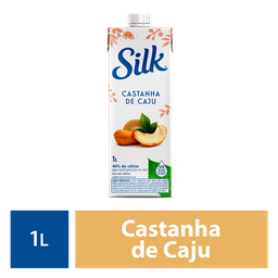 Silk Castanha De Caju 1L