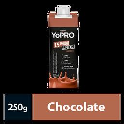 Bebida Lactea Com 15G De Proteína Yopro Chocolate 250Ml