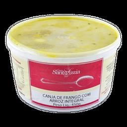 Canja Santa Luzia Arroz Integral/Frango Congelado 470 g
