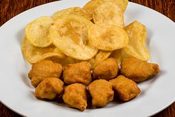 Nuggets Com Chips - 8 Unidades
