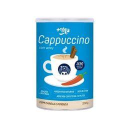 Cappuccino +Mu Com Whey Canela E Pimenta Sem Glúten 200 g
