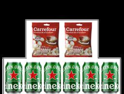 Combo Heineken + Amendoim