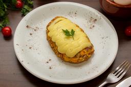 Omelete de Kafta com Catupiry