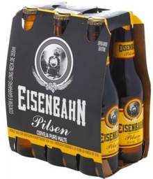 Eisenbahn Pilsen Long Neck 355 mL 6-PACK