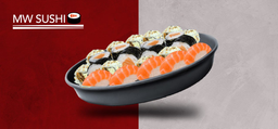 Sushi do Chef 25 Unidades e 1 Coca-Cola Original - 310ml