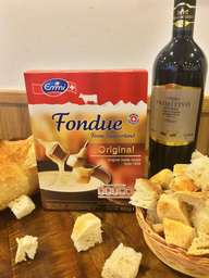 Fondue Suíço + Pão Italiano + Vinho Primitivo Puglia - 283359