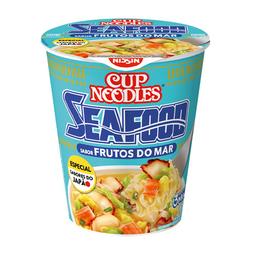 Cup Noodles Macarrão Instantâneo Nissin Frutos Mar