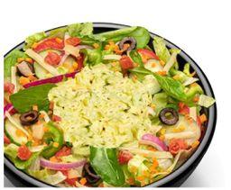 Salada Frango Desfiado Com Maionese Temperada
