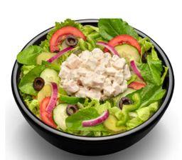 Salada Frango Defumado Com Cream Cheese