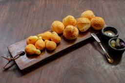 Mix de pães de queijo e polvilho