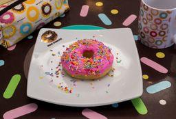 Donuts de Glacê de Morango Vegano
