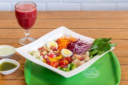Salada M 400g + Suco 300ml