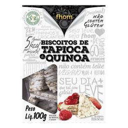 Biscoito De Tapioca Com Quinoa Fhom 100 g