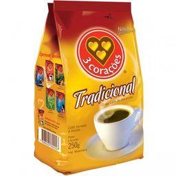 Café Três Corações: 250g Tradicional