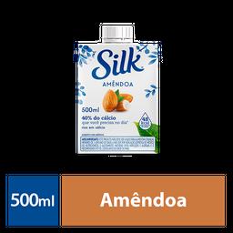 Bebida Vegetal Silk Amêndoa com Açúcar 500 ml