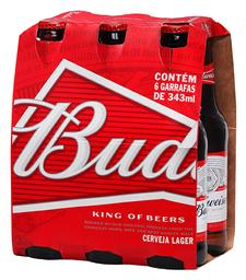 Cerveja Budweiser 343 mL