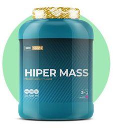 Snc Sports Hiper Mass Morango 3 Kg
