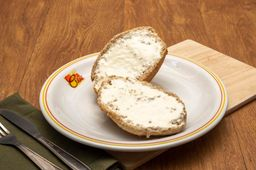Pão Francês Integral com Requeijão