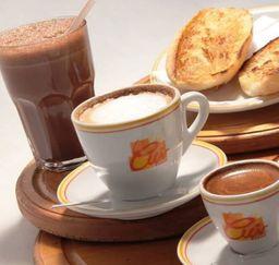 Café com leite - pingado ou média 100ml
