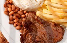 Marmitex churrasco (carne)