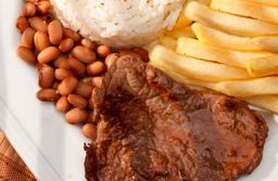 Marmitex churrasco (carne)