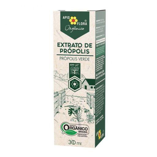 Extrato De Própolis Apis Verde Orgânico 30 Ml