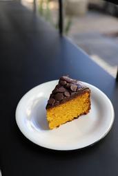 Bolo De Cenoura Com Chocolate Meio-Amargo - 150g