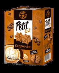 Petit Tost Biscoito Sabor Cappuccino