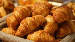 Croissant de Camarão com Mussarela