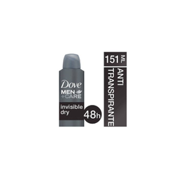 Desodorante Dove Aerosol Men Invisible Dry 89 g