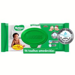 Toalha Umedecida Huggies Classic Com 96 Und