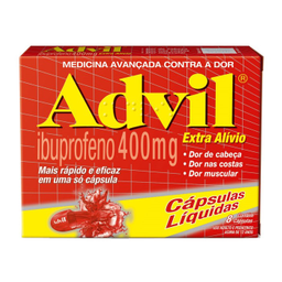 Advil Extra Wyeth 400 Mg 8 Comprimidos