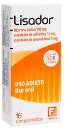 Lisador Farmasa 500 Mg 16 Comprimidos