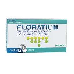 Floratil 100 Mg 12 Comprimidos