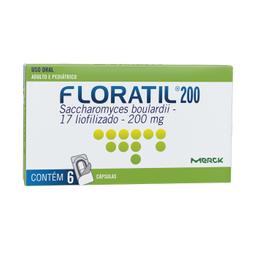 Floratil 200 Mg 6 Comprimidos