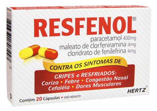 Resfenol 20 Comprimidos