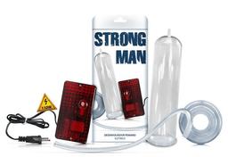 Strong Man - Bomba Peniana Eletrica 110 Vts - 24 x 5,4 cm